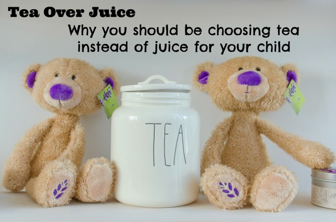 tea over juice