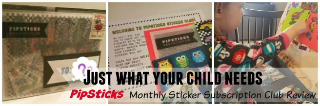 PipSticks Sticker Club Reiview